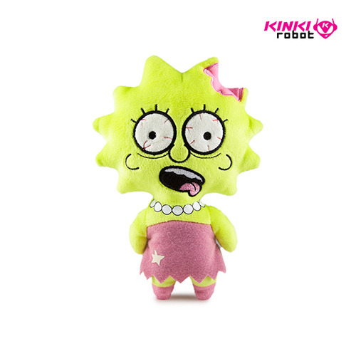 SIMPSONS PHUNNYS PLUSH LISA