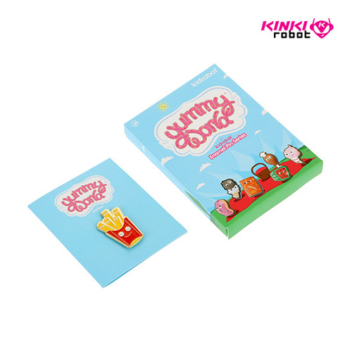Yummy World Enamel Pin Series(단품)