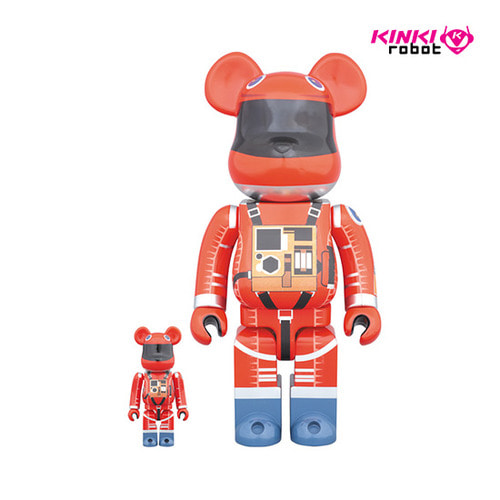400+100% BEARBRICK SPACE SUIT ORANGE VER (DP상품)