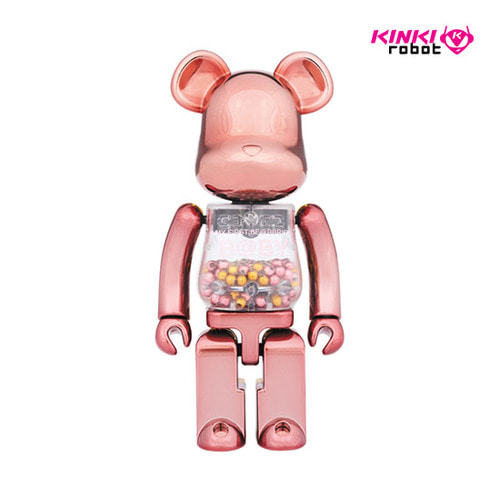 200%BEARBRICK MY FIRST BEARBRICK PINK&GOLD