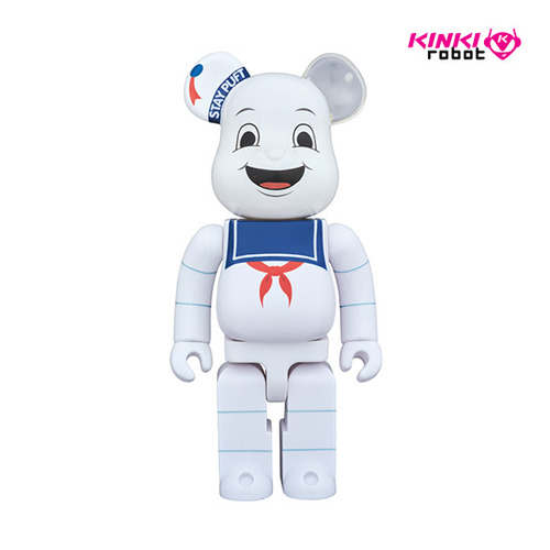 400%BEARBRICK STAY PUFT MARSHMALLOW MAN