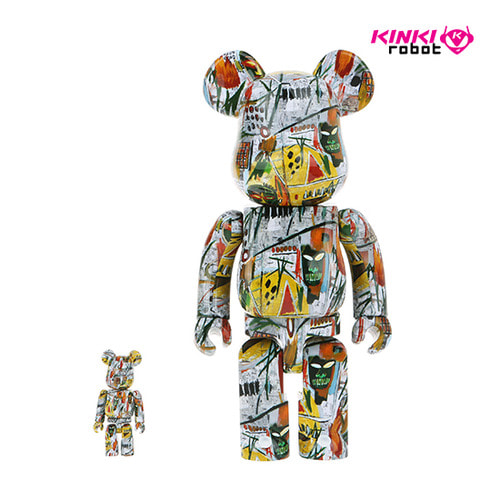 400%+100%BEARBRICK JEAN-MICHEL BASQUIAT