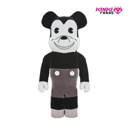 1000%BEARBRICK MICKEY MOUSE VINTAGE B&W VER