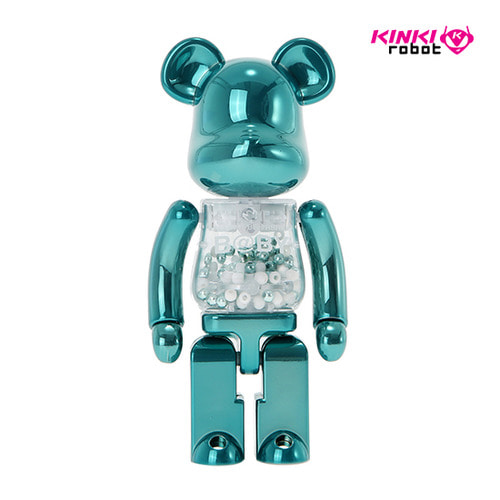 200%BEARBRICK MY FIRST BEARBRICK BABY TURQUOISE VER.