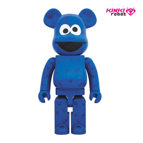 1000%BEARBRICK COOKIE MONSETER