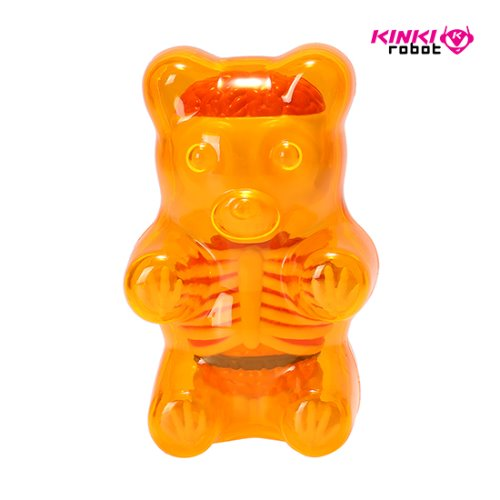 FUNNY ANATOMY BABY GUMMI BEAR (CLEAR ORANGE)