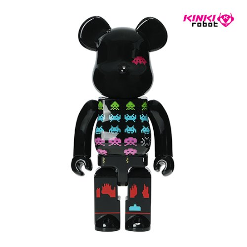 400%BEARBRICK SPACE INVADERS