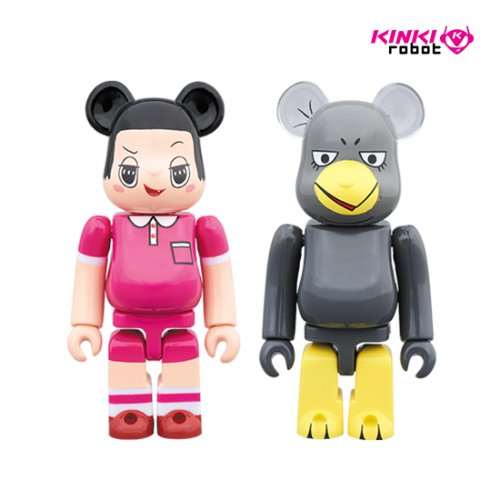 100%BEARBRICK CHICO CHAN & KYOE 2PACK