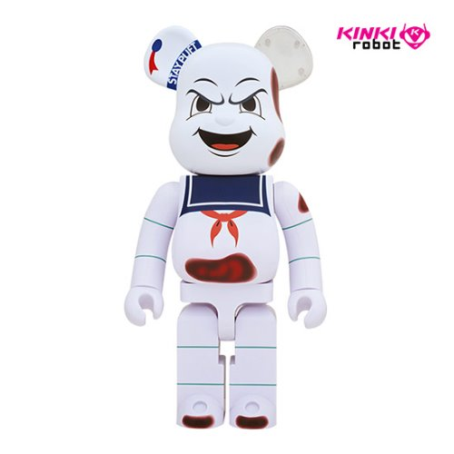1000%BEARBRICK STAY PUFT MARSHMALLOW MAN_ANGER FACE