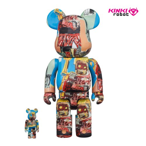 400%+100%, 1000%BEARBRICK JEAN MICHEL BASQUIAT #6 (프리오더)