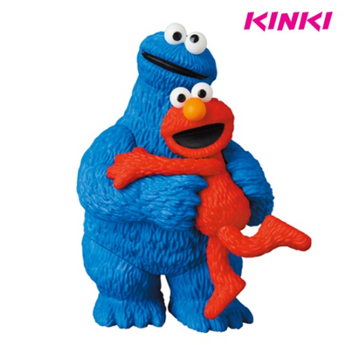 UDF SESAME STREET SERIES 2 : ELMO&COOKIE MONSTER