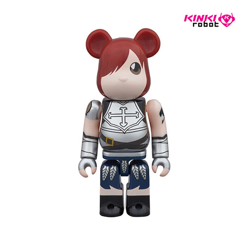100% BEARBRICK FAIRY TAIL ERZA ANTHOLOGY & COMIC BOOK