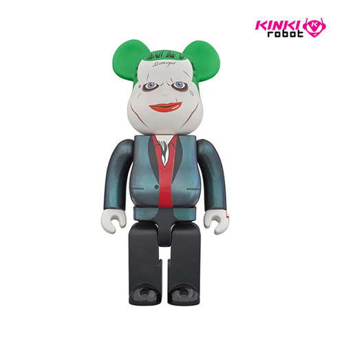 1000%BEARBRICK THE JOKER SUICIDE SQUAD