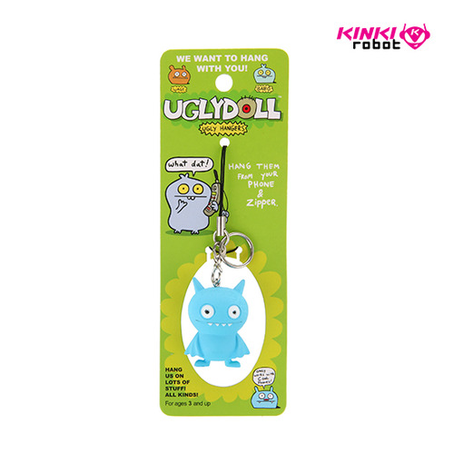 UGLYDOLL FIGURE ZIPPER PULLS_ICE-BAT