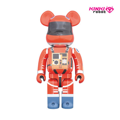 1000% BEARBRICK SPACE SUIT ORANGE VER (DP상품)