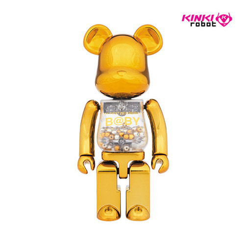 200%BEARBRICK MY FIRST BEARBRICK GOLD&SILVER