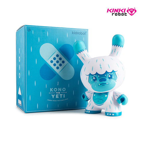 "8""DUNNY KONO THE YETI BY SQUINK"