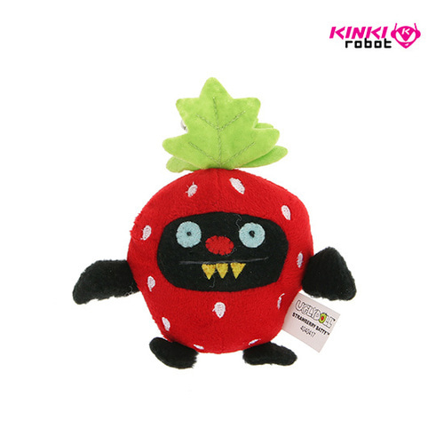 CLIP ON_FRUIT STRAWBERRY NINJA BATTY