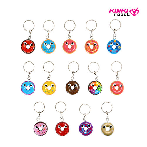 YUMMY WORLD KEYCHAIN SERIES-ATTACK OF THE DONUTS