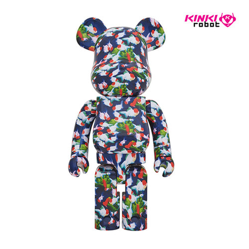 1000%BEARBRICK MIKA NINAGAWA GOLD FISH