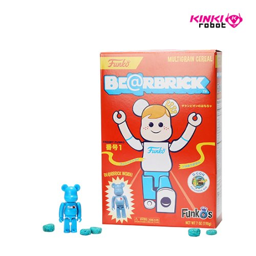 100%BEARBRICK MEDICOMTOY X FUNKO'S CEREAL RED BOX