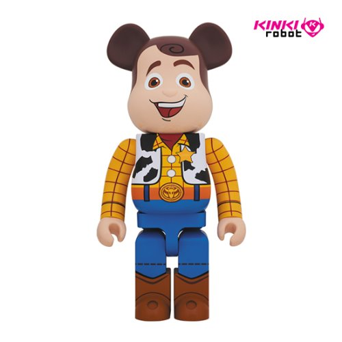 1000%BEARBRICK WOODY