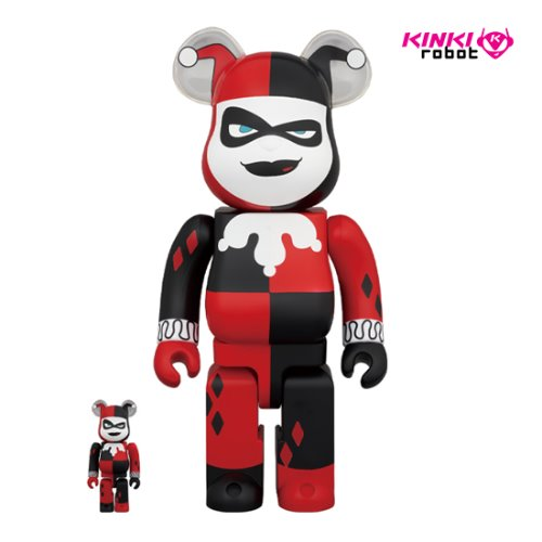 400%+100%, 1000%BEARBRICK HARLEY QUINN (BATMAN THE ANIMATED SERIES VERSION) (프리오더)