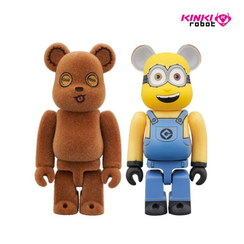 100%BEARBRICK TIM&BOB 2PACK